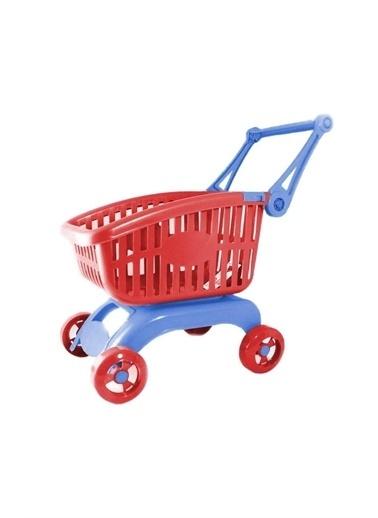 Furkan Toys Furkan Toys Katlanabilir Kollu Market Arabası FR53555 Renkli